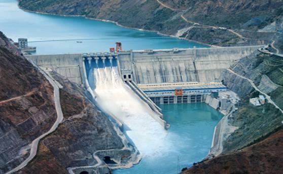 汉能金安桥水电站是目前全球由民营企业投建的最大水电站