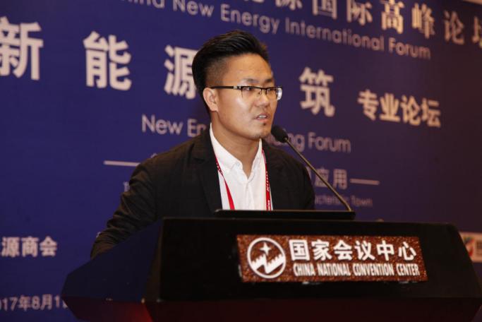 鑫明光控股刘继文:新能源与建筑系统的结合与发展